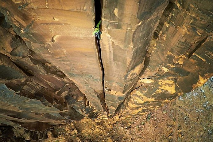 Rock Climbing, Moab, USA by Max Seigal
