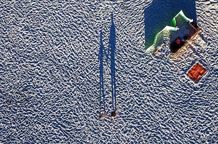 Miedzyzdroje plaża, Poland by Drone Expert
