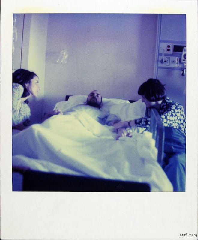 October 21, 1997 婚后没多久,他不得不又回到病床上
