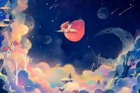 疲惫生活的心灵调剂!插画家 Salu 的奇幻国度让你拥有美好的喘息片刻