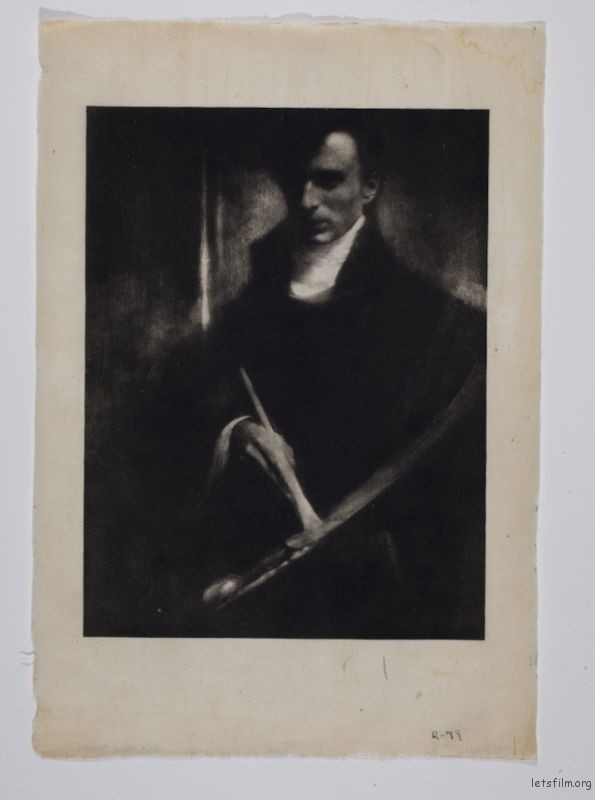 "Edward Steichen, ""Self‑portrait"" (1901)"
