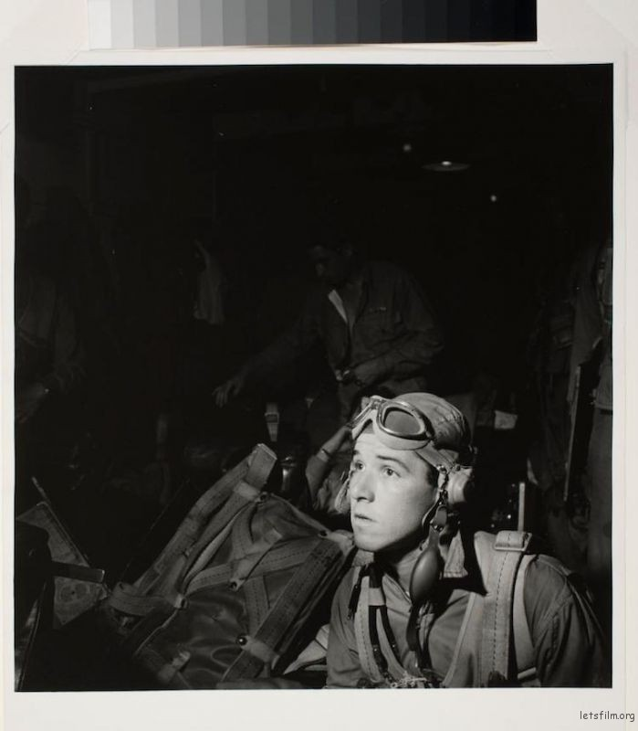 "Unidentified, ""Naval pilot in ready room on aircraft carrier"" (1943)"