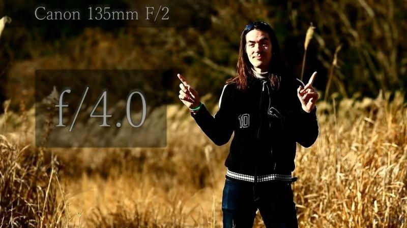 135mm f/4.0