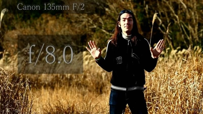 135mm f/8.0
