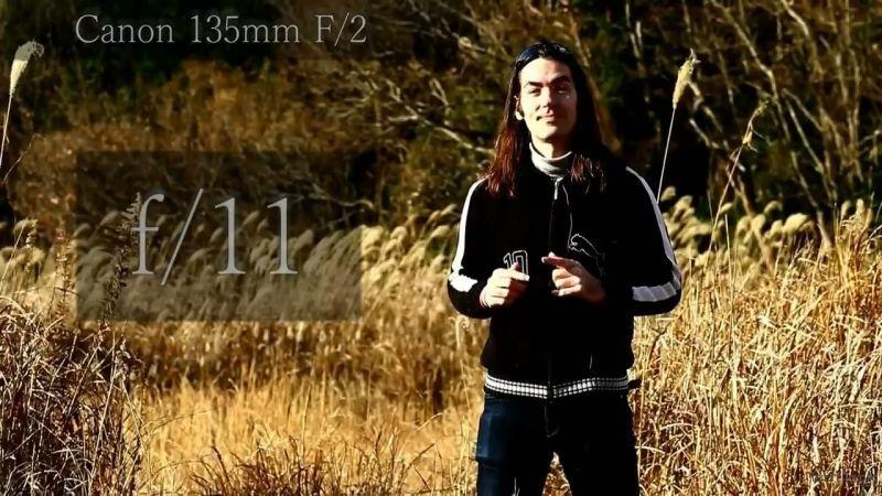 135mm f/11