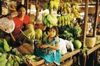 [11535] 缅甸仰光的环城小火车,蒲甘的菜市场,曼德勒的大皇宫
