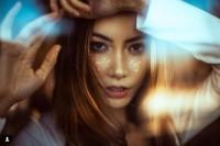美女摄影师教你用玻璃拍出梦幻人像
