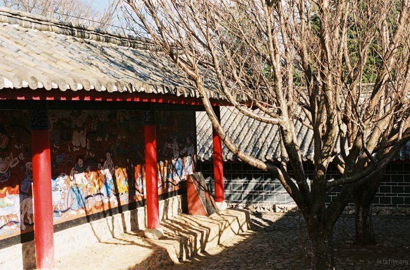 东巴文化庭院