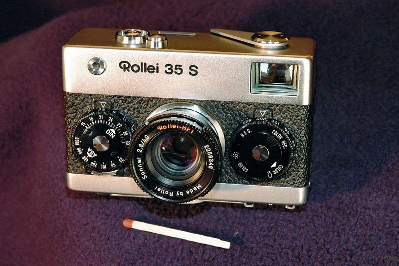 Rollei 35S 当时全世界最小的35mm相机