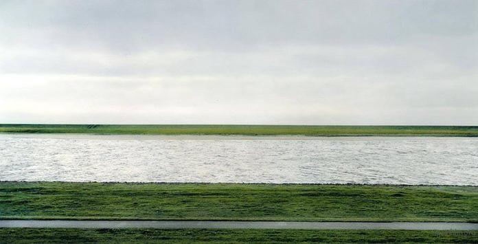 Rheine II by Andreas Gursky