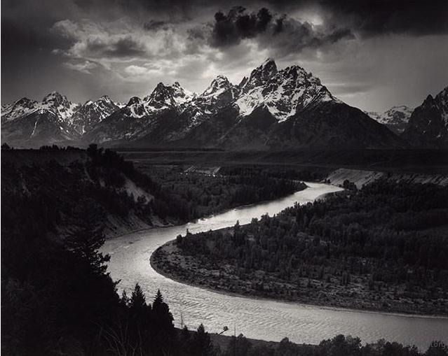 Ansel Adams 的风景摄影