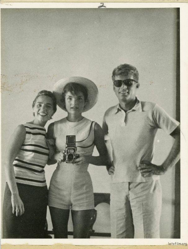 美国总统肯尼迪一家,1954