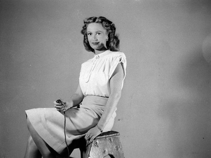 Geraldine Fitzgerald, 1940s