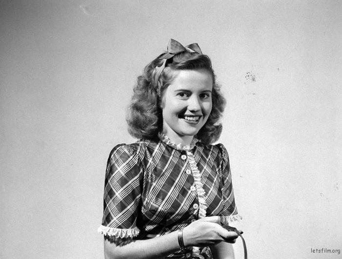 Actress Joyce Reynolds, 1940s