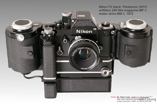 Nikon F2 body with Photomic DP