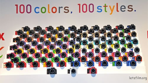 Pentax kx color