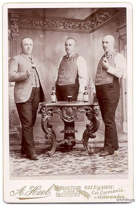 1880 年的暗室合成作品