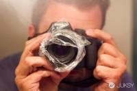 一个塑料袋创造柔光,你也是摄影大师