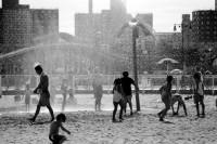纽约街头的黑白影像