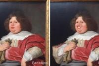 他嫌博物馆里艺术品的表情太严肃,于是给他们都P上了笑容