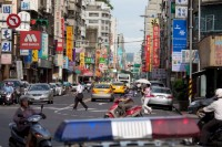 《露西》中的台北,真实的台北