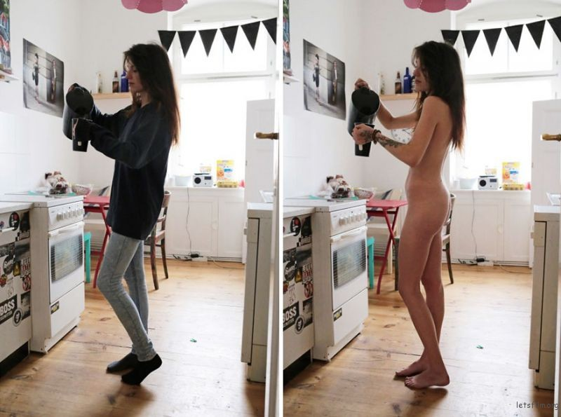 people-doing-everyday-things-with-and-without-clothes-sophia-vogel-10-5927dc95629c7__880