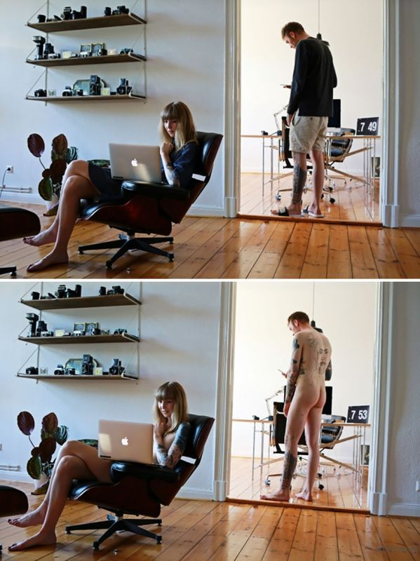 people-doing-everyday-things-with-and-without-clothes-sophia-vogel-18-5927dca65ac26__880