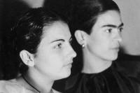 这些老照片忠实的记录了弗里达十几岁年轻时候的样子