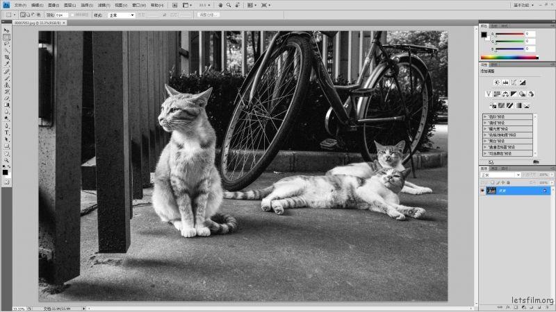 Adobe Photoshop CS4 界面