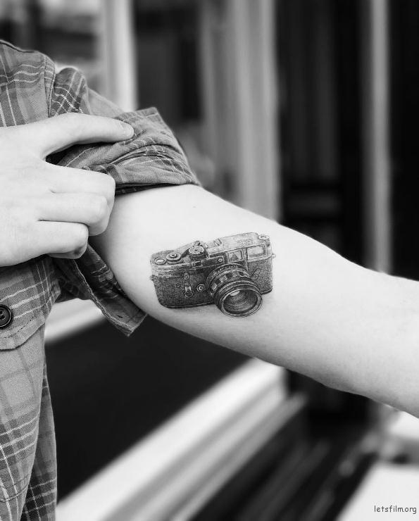 相机 Tattoo