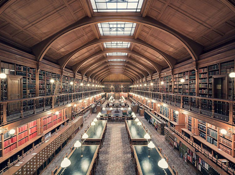 Bibliothèque de l'Hotel de Ville,巴黎,建造于 1890 年