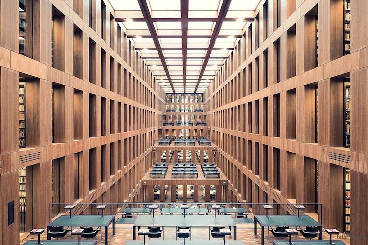 洪堡大学图书馆,柏林,建造于 2009 年