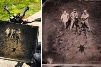 锡版摄影和无人机,当这两种完全不搭边的东西碰撞到了一起