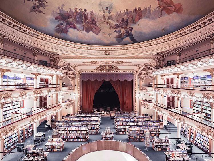 雅典人书店,布宜诺斯艾利斯,建造于 1919 年