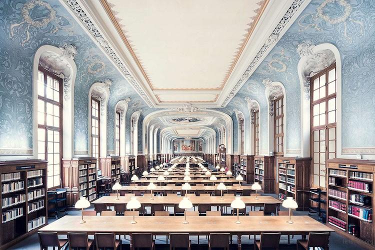 索邦大学图书馆,建造于 1897 年