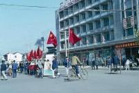老照片 | 法国外交官镜头下,文革初的彩色中国