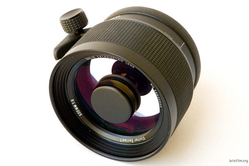 Vivitar Series 1 600mm f/8 Solid Catadioptric Lens