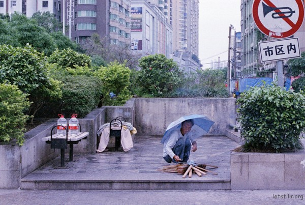 每个城市都有属于自己的乞丐