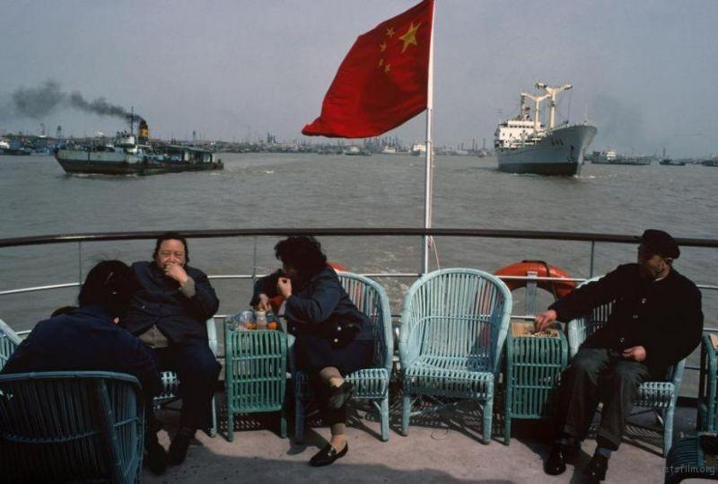 1980年的上海黄浦江