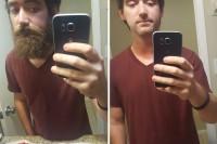 粗犷硬汉变身小鲜肉?剃掉胡子就可以了