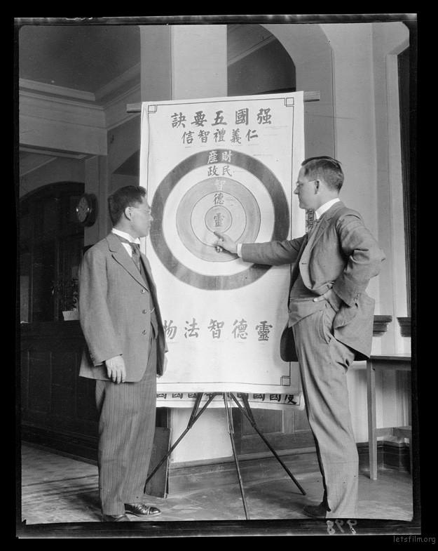 G. Sherwood Eddy & Chen Wei Ping 1917-1919