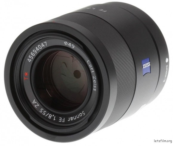Sony Zeiss Sonnar T 55mm f 1.8 ZA