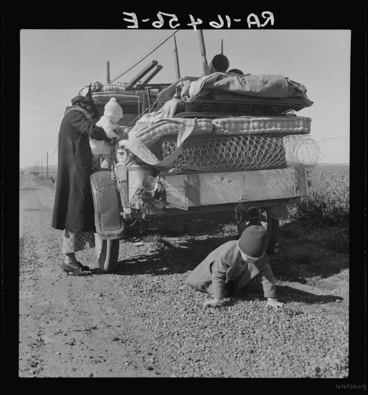 Dorothea Lange / 1937 Tracy, San Joaquin, California