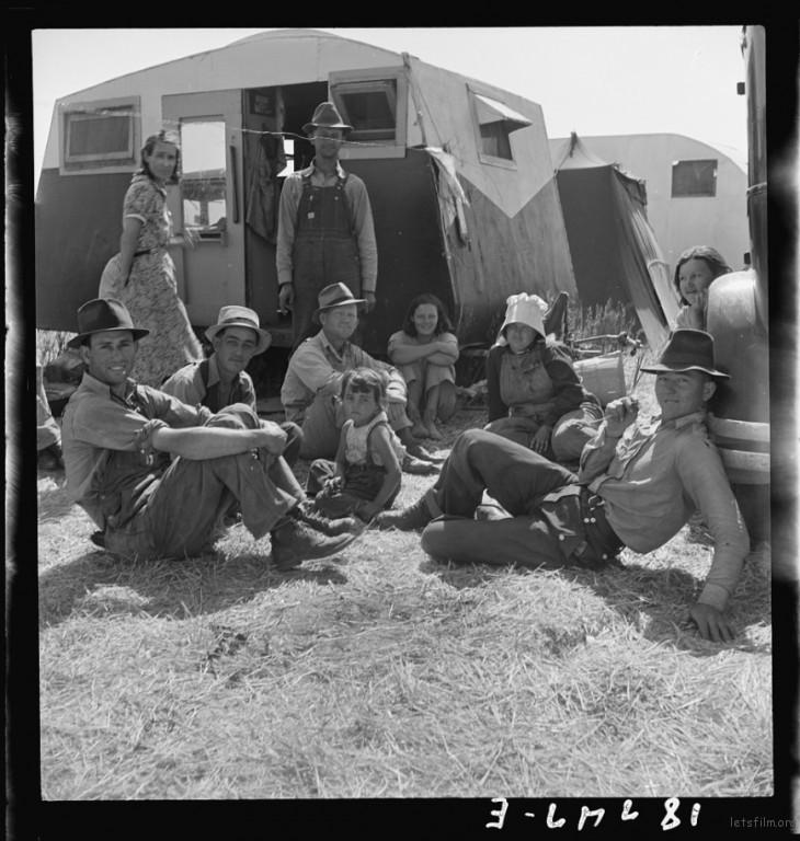 Dorothea Lange / 1938 / Westley, Stanislaus, California