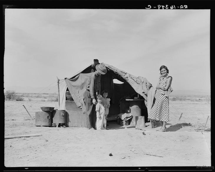 Dorothea Lange / 1937 / Holtville, Imperial, California