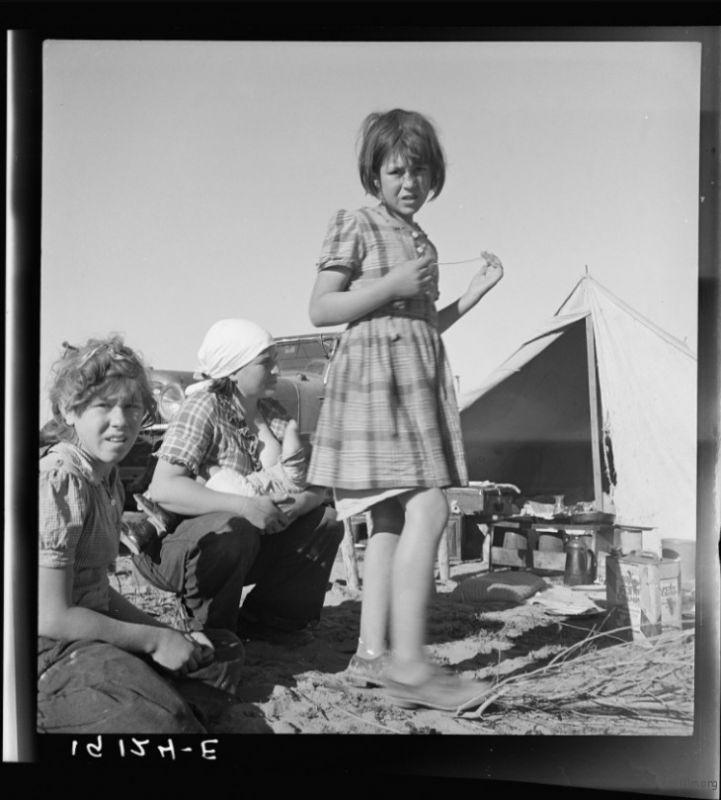 Dorothea Lange / 1939 / Holtville, Imperial, California