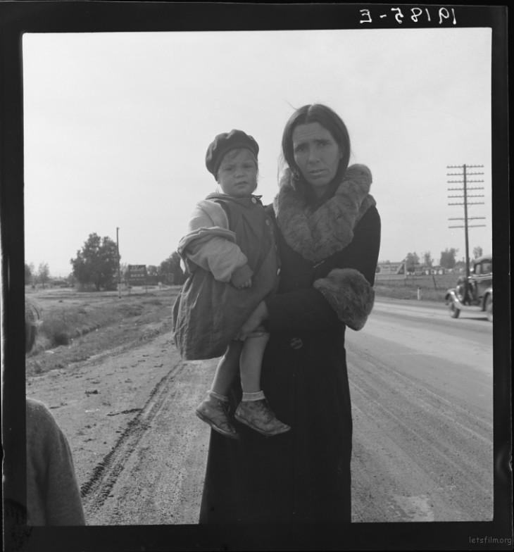 Dorothea Lange / 1939 / Brawley, Imperial, California