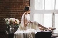 以芭蕾风格的婚纱,舞出我们最美的梦想