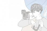 日本插画师画笔下,情侣间的甜蜜日常