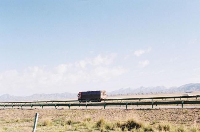 [14295] 六月的西北,山/湖/和路上的风景。 | 胶片的味道